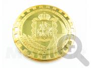 Памятная монета Комитета по труду и занятости населения Московской области