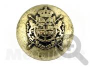 Металлическая пуговица с гербом