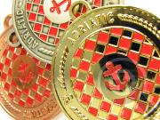 Комплект медалей Хорватской адриатической регаты 2010