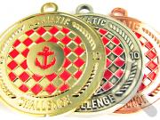 """Комплект медалей """"Хорватская адриатическая регата - 2010"""""""