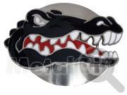 Пряжка ремня с изображением крокодила