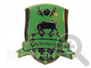 """Значок ФК """"Краснодар"""""""