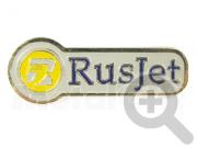 Нагрудный знак RusJet