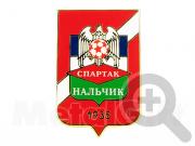 Значок ФК Спартак (Нальчик)